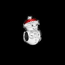 Snowman and Santa Hat チャーム