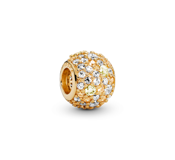 Golden Mix Pave Ball
