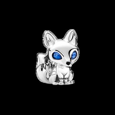 Blue-Eyed Fox Charm