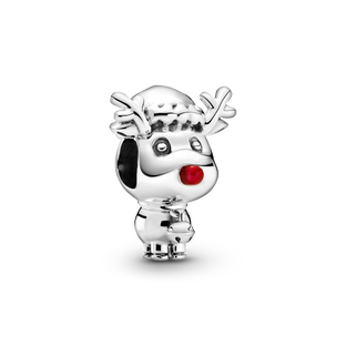 Red Nose Reindeer Charm