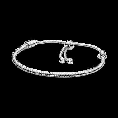 Moments Snake Chain Slider Bracelet