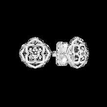 Rose Petals Stud Earrings