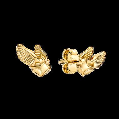 Harry Potter, Golden Snitch Stud Earrings