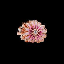 Pink Daisy Flower Charm