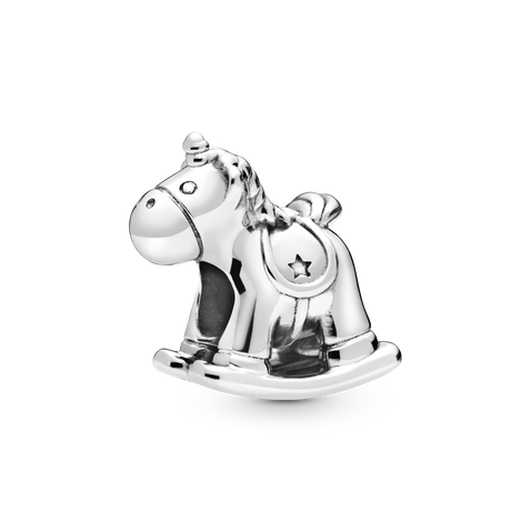Bruno the Unicorn Rocking Horse チャーム