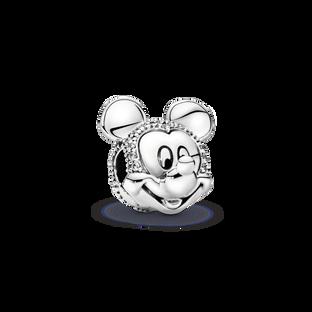 Disney Mickey Mouse Pavé Clip Charm