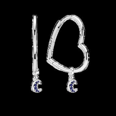 My Moon Dangle Drop Earrings Set