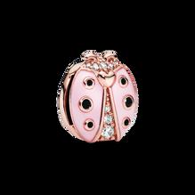 Pink Ladybird Clip Charm