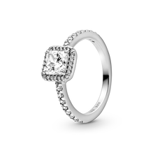 Square Sparkle Ring