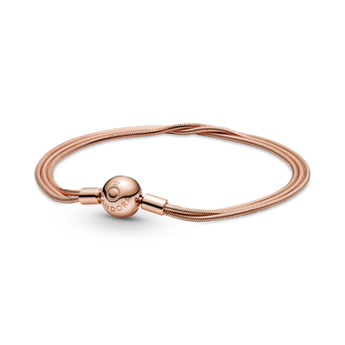 Pandora Moments Multi Snake Chain Bracelet