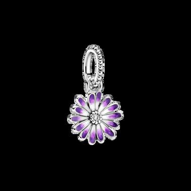 Purple Daisy Dangle Charm