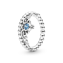 Disney Cinderella Blue Tiara Ring