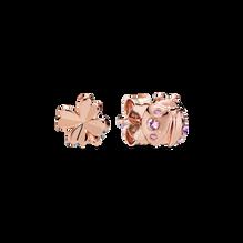 Clover & Ladybird Stud Earrings