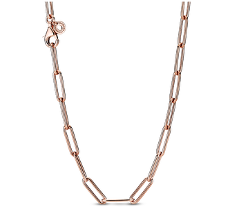 Long Link Cable Chain Necklace