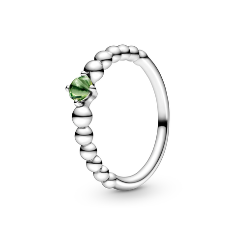 Spring Green Beaded リング
