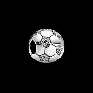 Sparkling Football Charm