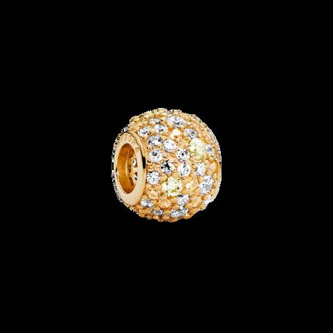 Golden Mix Pave Ball