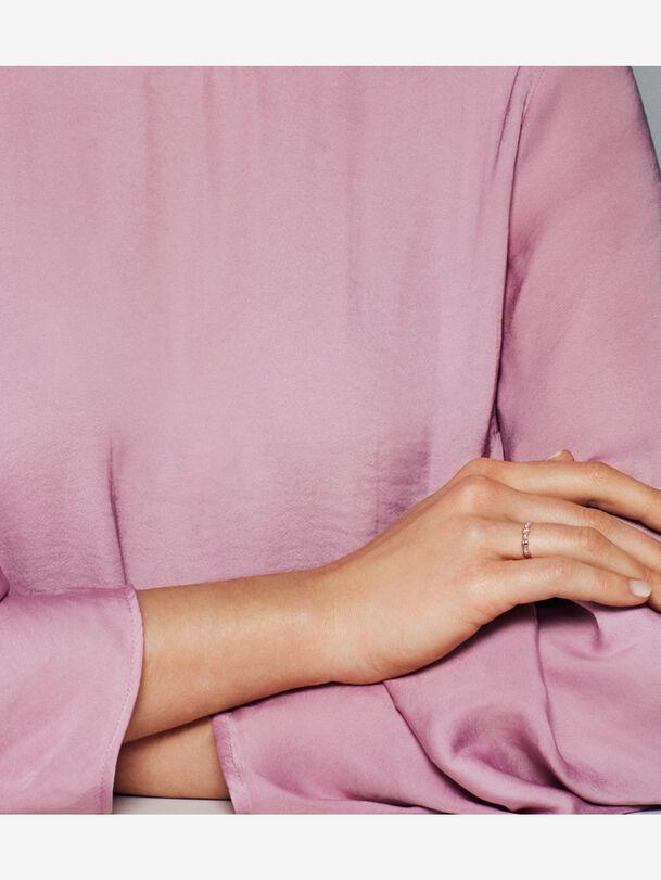 Sparkling Seashell Band Ring