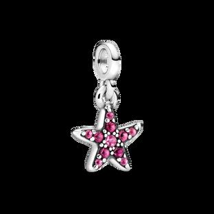 My Pink Starfish Dangle Charm