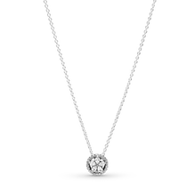 Sparkling Snowflake Collier Necklace