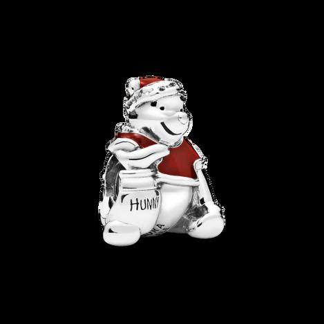 Disney Winnie the Pooh Hunny Pot Christmas チャーム