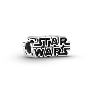Star Wars™ Silver 3D Logo Charm